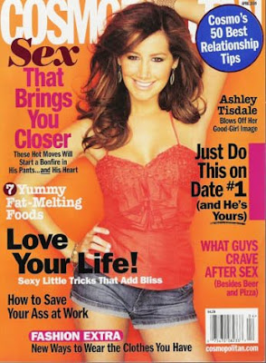 Cosmo April edition: Ashley Tisdale