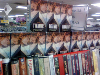 WildARSChase Goodwill Titanic movie VHS set
