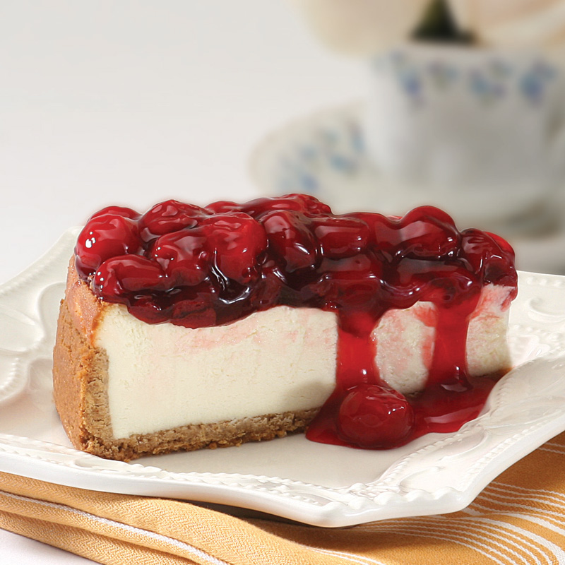 today i made cherry cheesecake i haven t made cheesecake in a long ...