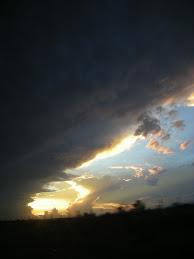 Atarceder nublado