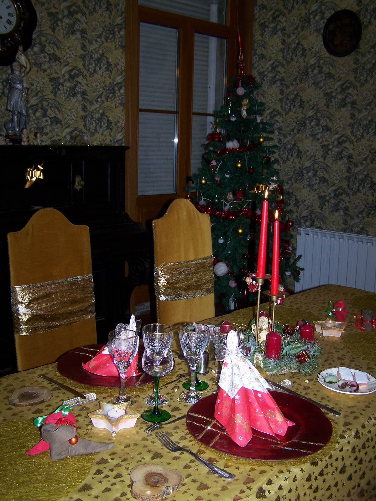La villa jeanne d 39 arc une table d 39 h te avant no l - Monter une table d hote ...