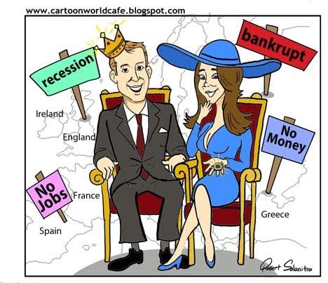 royal wedding cartoon. ready for a Royal Wedding?