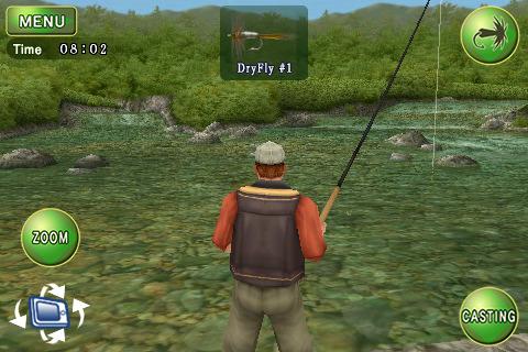 Fly fishing 3d dir oyun iphone oyunudur balık tutma oyunudur hepinize