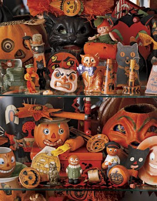 Antique Vintage Halloween Pumpkins