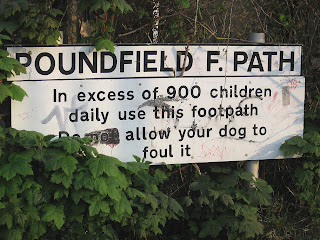 Poundfield footpath