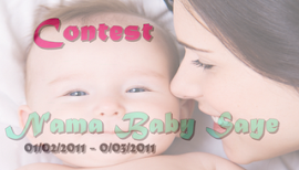 contest nama baby saye