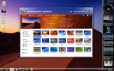 Best Windows 7 Aero Themes Collection Free Download