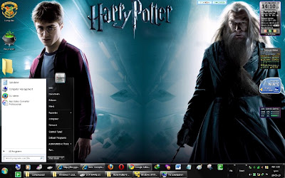 Harry Potter & The Half Blood Prince Theme for Windows 7