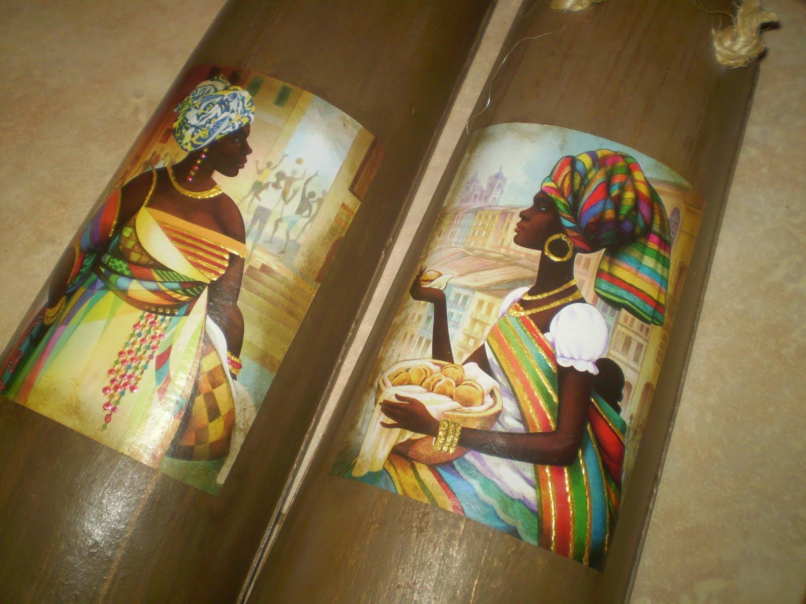 Negras Africanas Em Decoupage D Picture