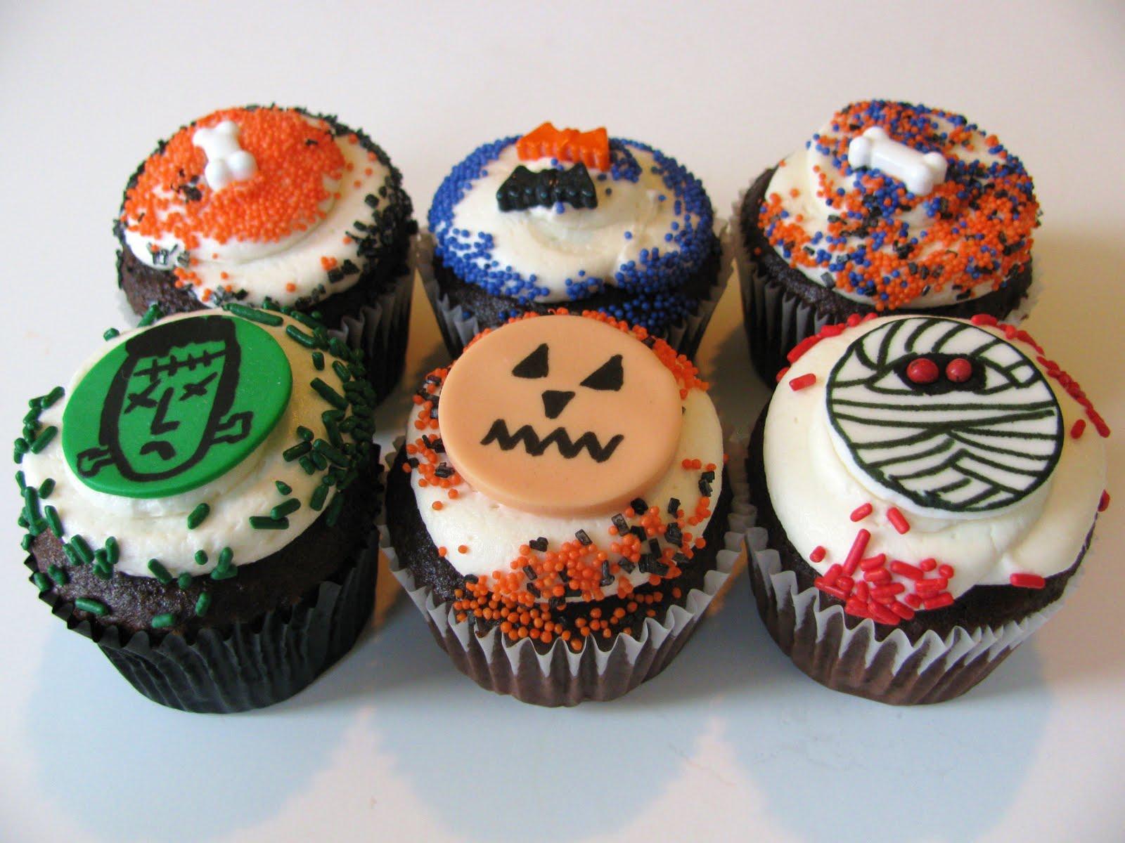 Man bakes cake halloween cupcakes Halloween cupcakes