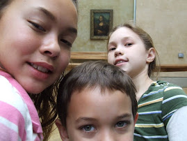 CayChloJo with Mona Lisa