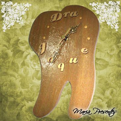 relógio de dente