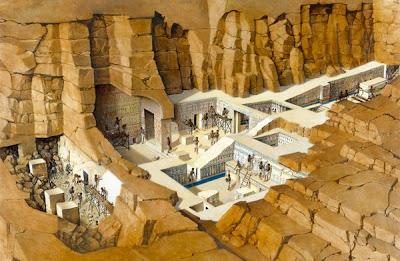 makam+Makam+Pharaoh+Seti+I Makam Pharaoh Seti I dan Terowongan Rahasia Didalamnya!