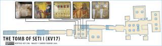 makam+Makam+Pharaoh+Seti+I++6 Makam Pharaoh Seti I dan Terowongan Rahasia Didalamnya!