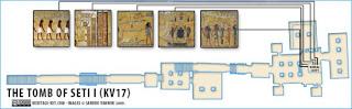 makam+Makam+Pharaoh+Seti+I++10 Makam Pharaoh Seti I dan Terowongan Rahasia Didalamnya!