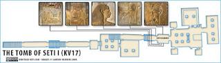 makam+Makam+Pharaoh+Seti+I++13 Makam Pharaoh Seti I dan Terowongan Rahasia Didalamnya!