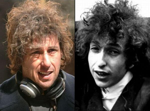 Adam Sandler and Bob Dylan