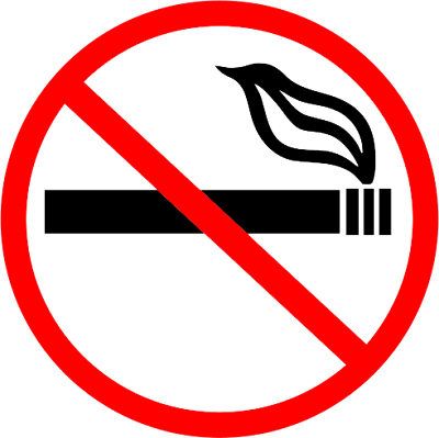 Say No to Smoking Sign