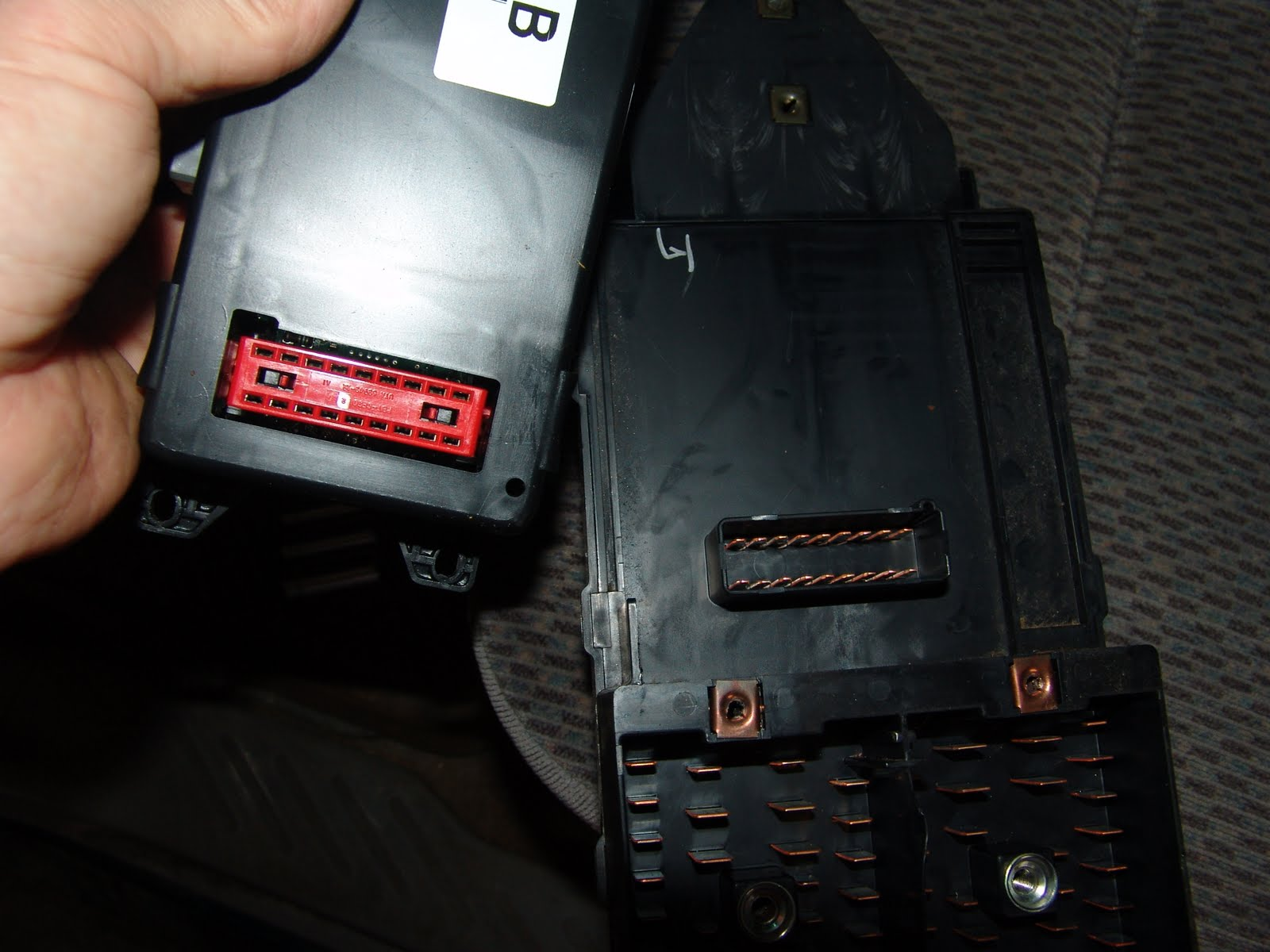 further F Horn in addition Dsc in addition Dsc in addition Dsc. on 1997 ford f 150 gem module