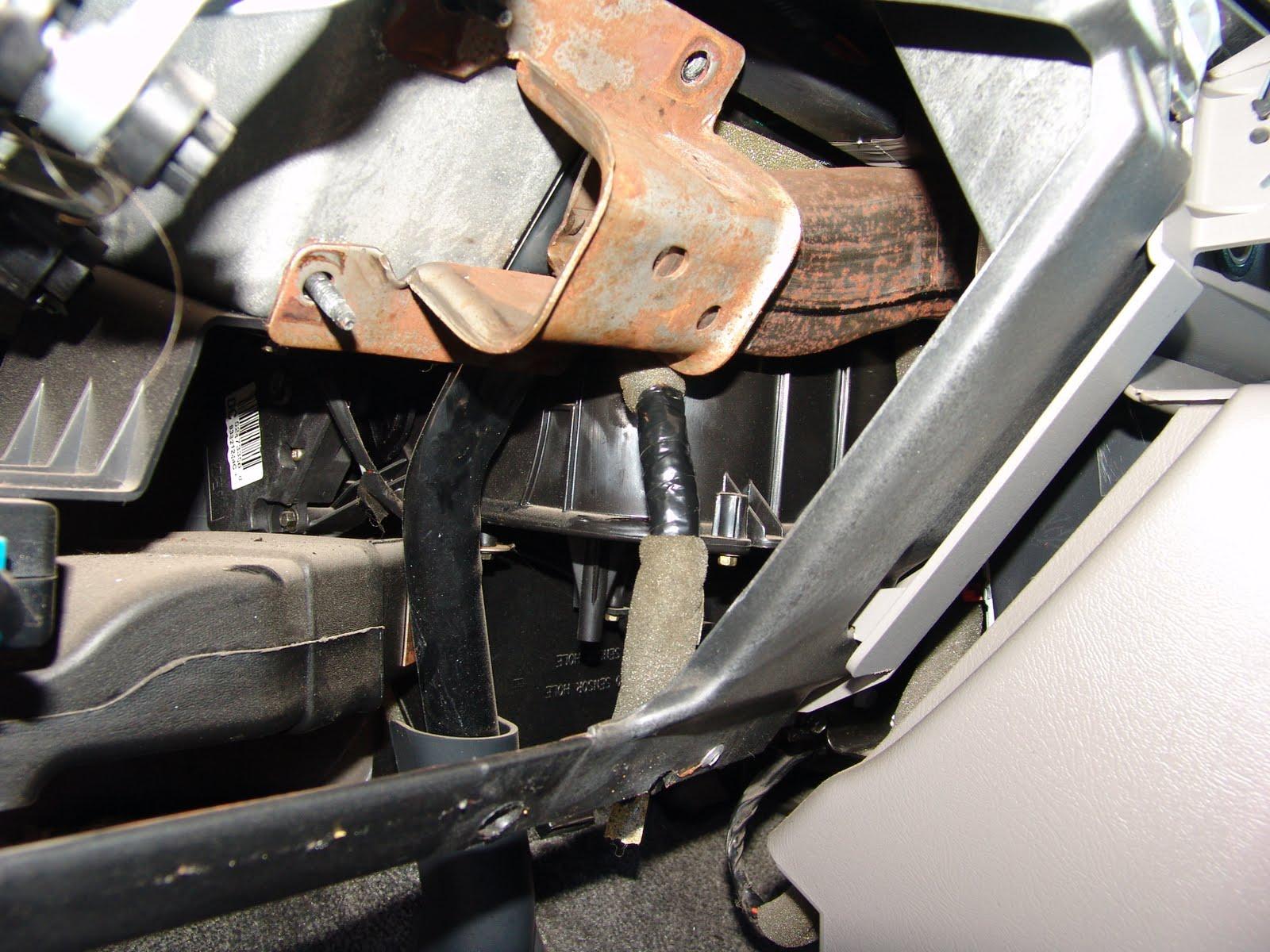 Chevy Brake Light Switch Removal