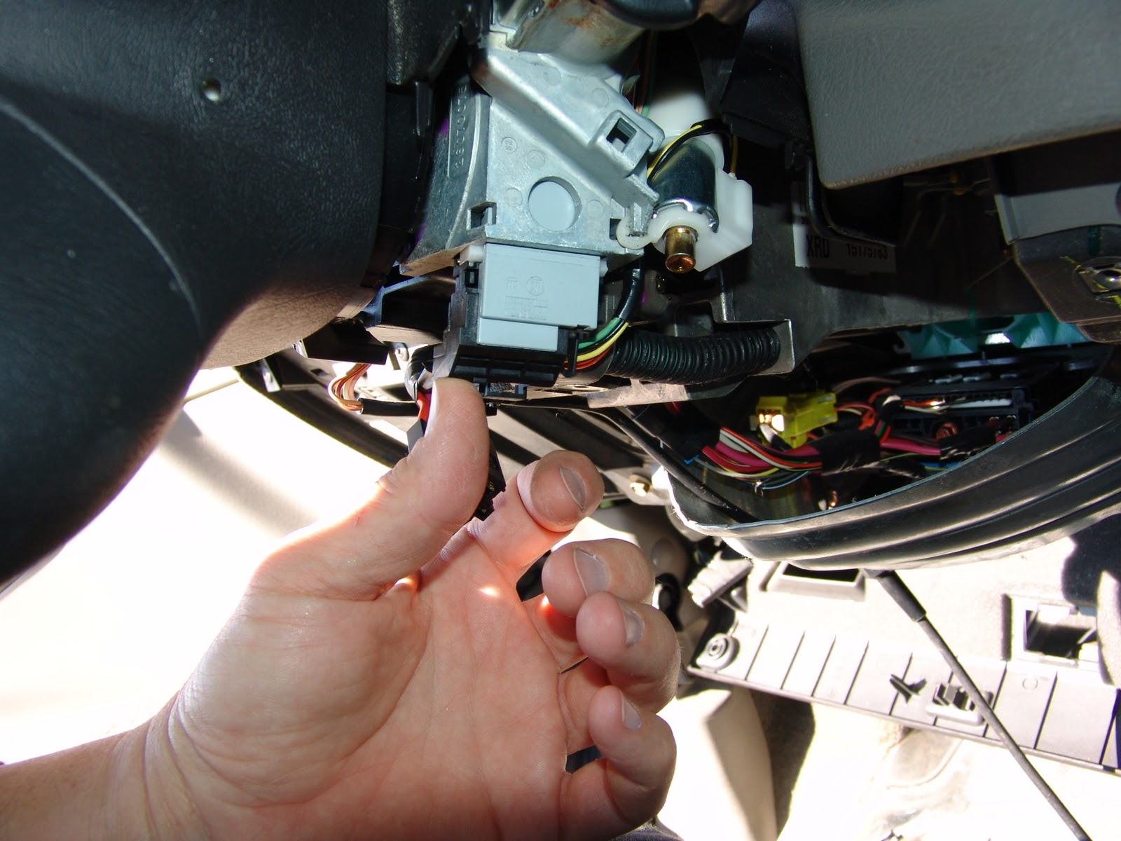 Plug The Wiring Harness Back Up To The Switch  Positioned