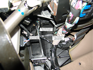 2004 Chevy Trailblazer Blend Door Actuator