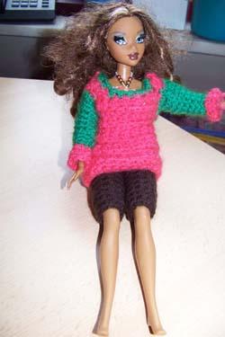 Barbies nieuwe kleren