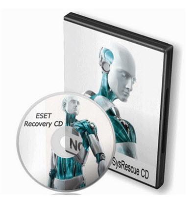 Herramienta de creación de disco de inicio con ESET NOD32 Antivirus