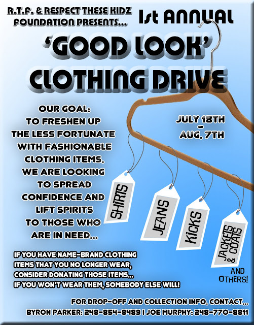 Doc570629 Clothing Drive Flyer Template Clothing Drive School