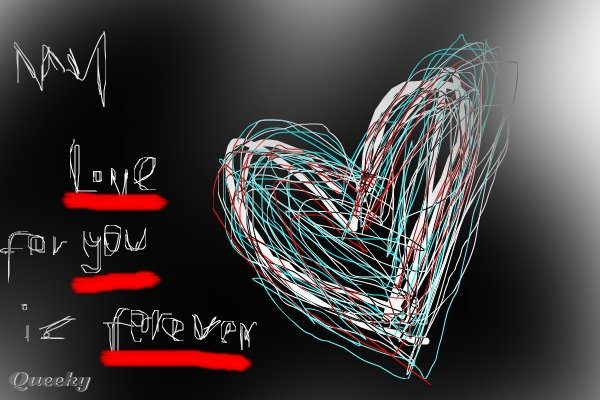 emo love heart drawings. emo love forever. S.I.L.L.Y.