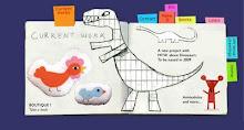 Dinodulos designed par Godeleine de Rosamel