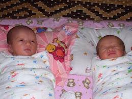 Baby Athirah & Baby Awatif