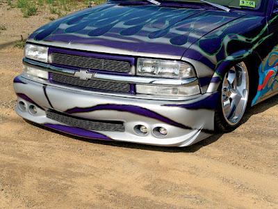 Chevy    Que Frente    Una Parrilla Excelente  Con Parachoques