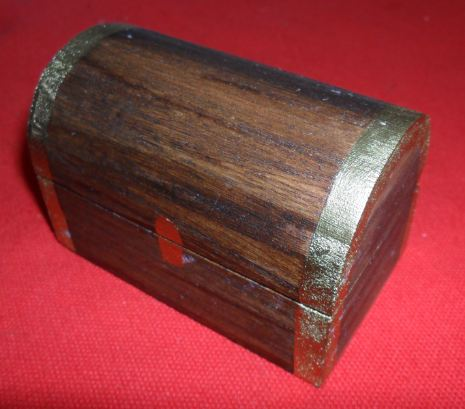Busy crafting make a ring box treasure chest for How to make a ring box out of wood