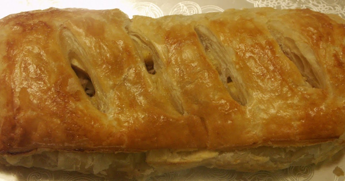 how to make an apple strudel with puff pastry