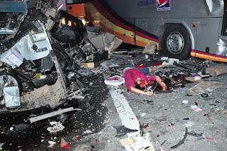 gambar kemalangan ngeri