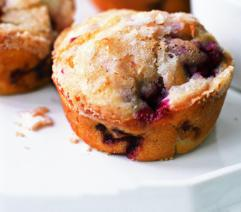 Cup of Delight: Delightful Morsel: Sugar-Crusted Raspberry Muffins