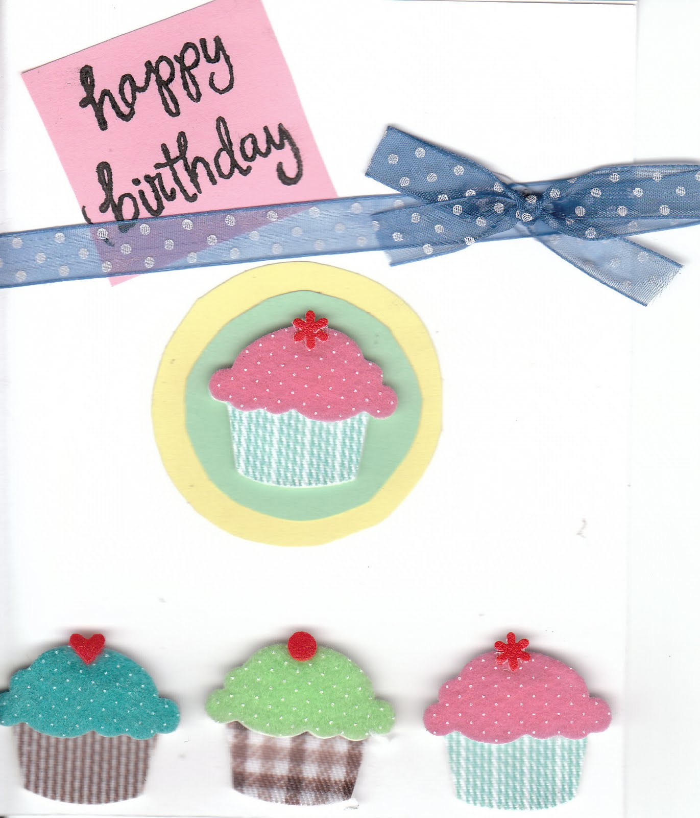 cup of delight monday's cup of creativity cupcake birthday card, Birthday card