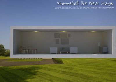 Desain Eksterior Rumah Kotak Minimalist