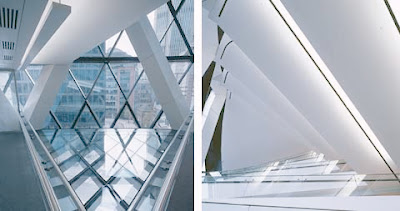 Modern Building Design of Gherkin