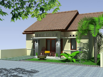 Exterior Design Modern Tropical House