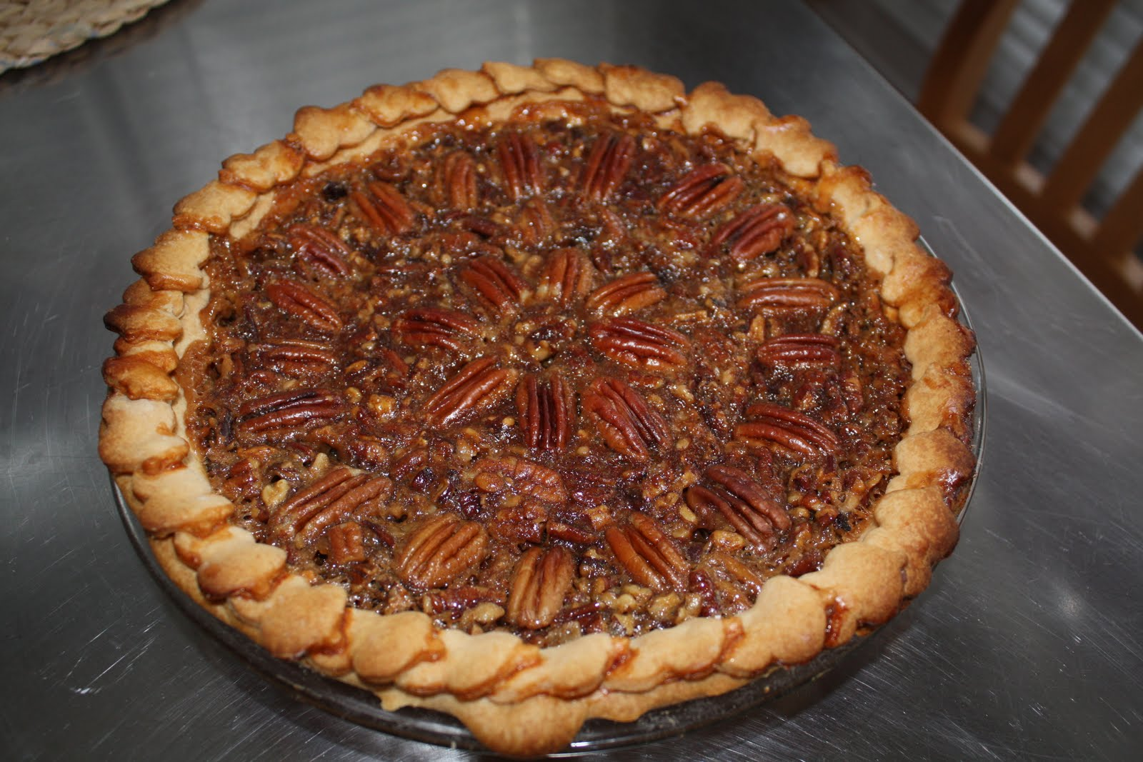 English Toffee Pecan Pie Recipe — Dishmaps