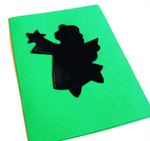 Recycled VINYL RECORD Christmas Card - ONLY £1.50