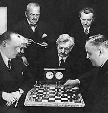Alexander Alekhine un grande sin palabras