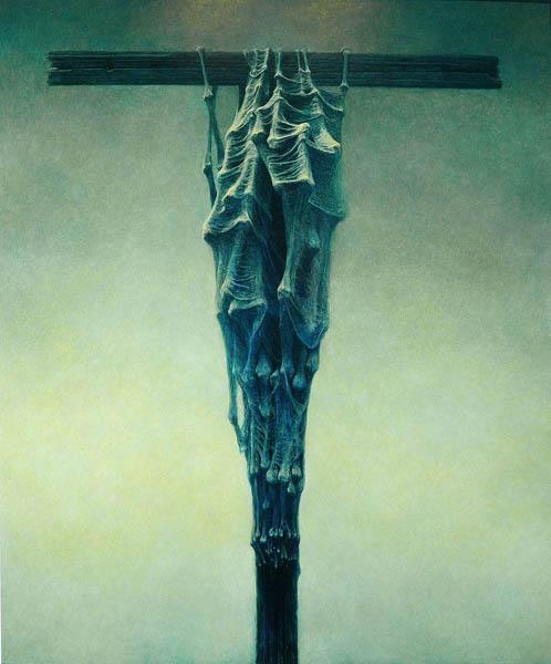 trup na krzyżu