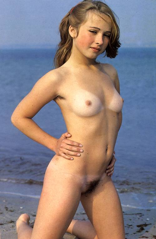 Vintage pic nudist Young german