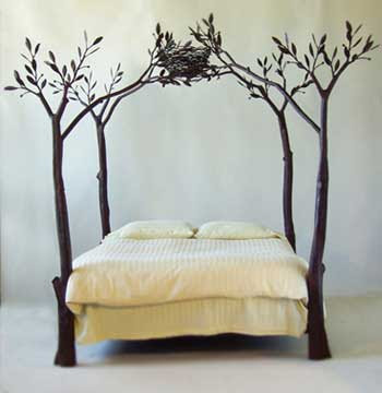 Design Metal Beds : Craft Central: Wrought Iron Bed Designs