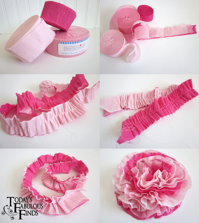 paper flowers how to make. Make Crepe Paper Flowers