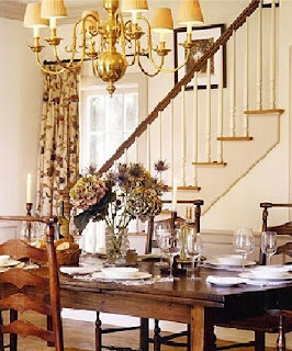 Kathryn Ireland dining room.  Click to open website.