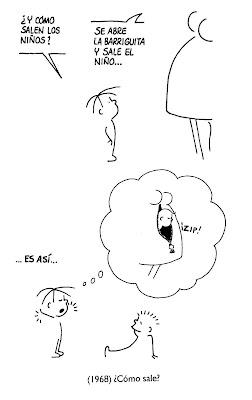 El pensamiento de los niños - Dibujos de Tonucci I